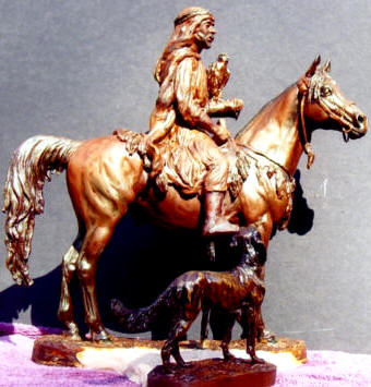 Arab Huntsman - Nancy Weimer Belden
